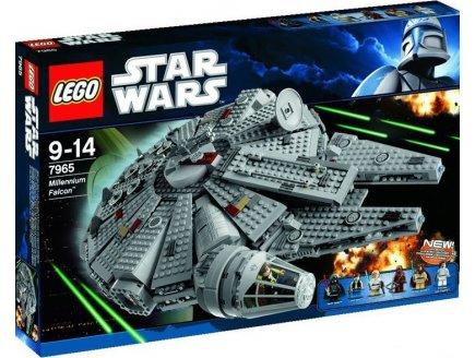7965 millennium falcon figurine lego star wars vaisseau star wars lego