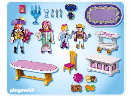 Salle manger royale playmobil 5145 ch teau de la for Salle a manger playmobil 5145