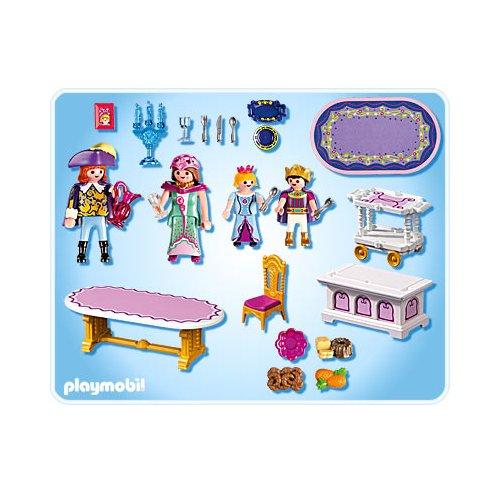 Salle manger royale playmobil 5145 ch teau de la for Salle a manger playmobil
