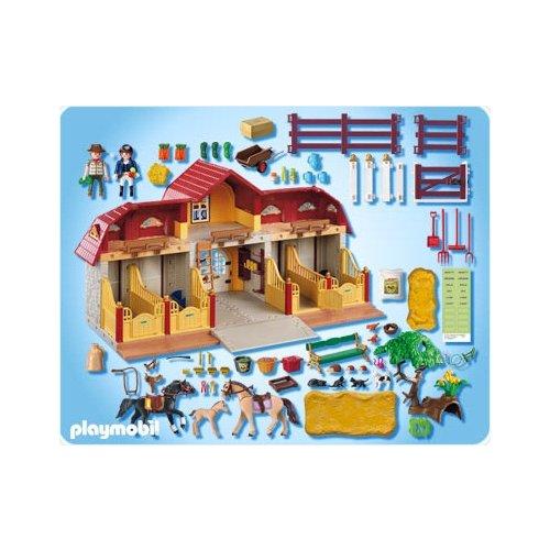 Playmobil country playmobil 5221 centre questre - Playmobil haras ...