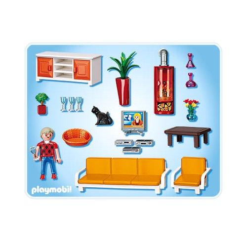 Playmobil r f rence 5332 playmobil vie en ville - Playmobil wohnzimmer 5332 ...